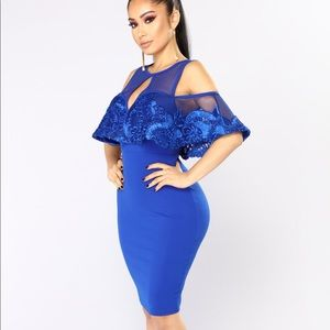 Cute royal blue dress ✨ Cyber Monday sales✨